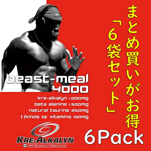BEAST-MEAL4000 ×6(30pack×6)