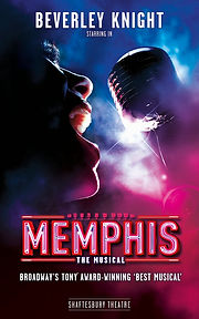 Memphis Musical Beverley Knight Shaftesbury Theatre