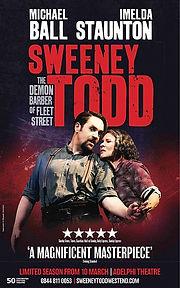 Sweeney Todd Adelphi Theatre