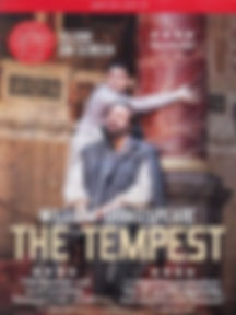 Shakespeare Globe The Tempest