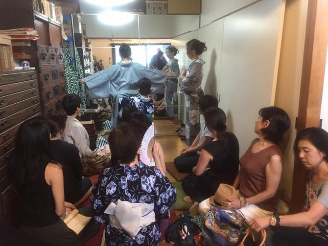 第五回古美道会 夏着物販売会第二弾‼️『夏こそ半幅帯で女っぷりあげましょう会‼️』開催しました!