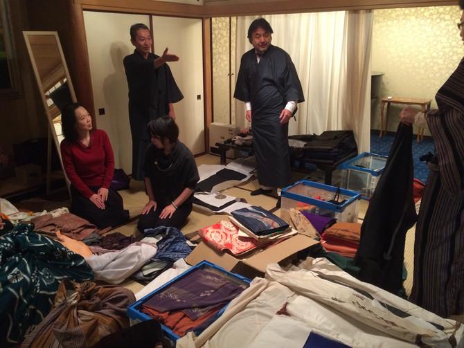 12/17 お着物販売会を開催しました!