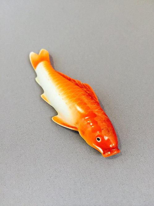 陶器鯉アンティーク帯留
