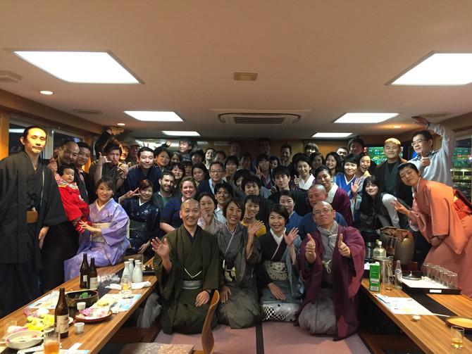 第二回 古美道 隅田川桜屋形船開催しました!
