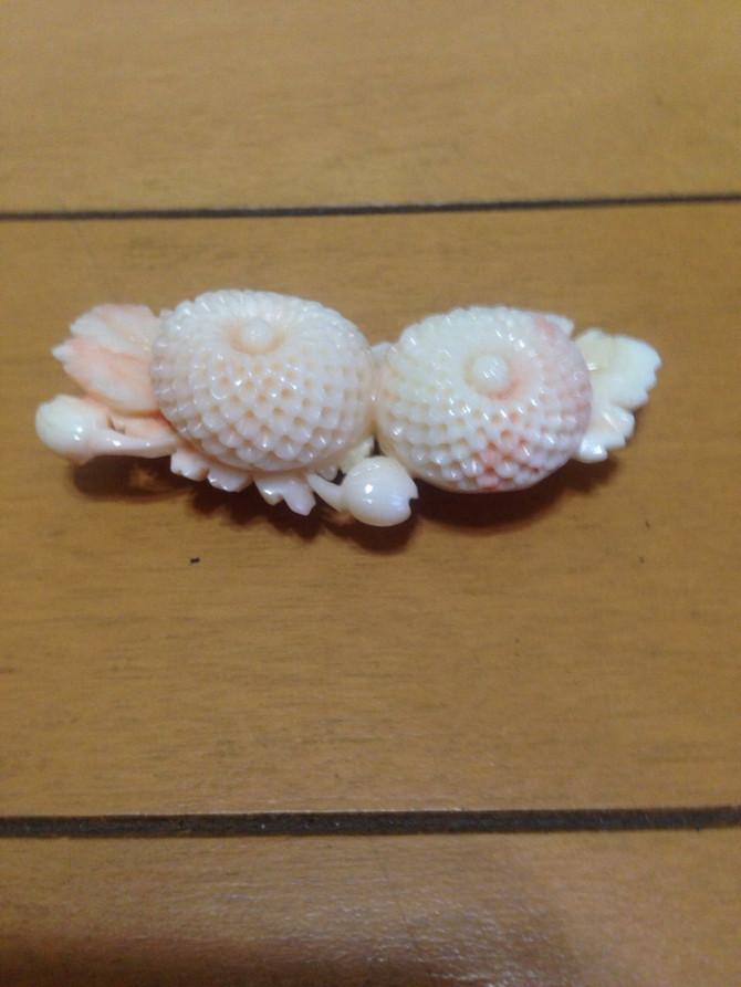 【古美道 お買取日記】珊瑚の帯留