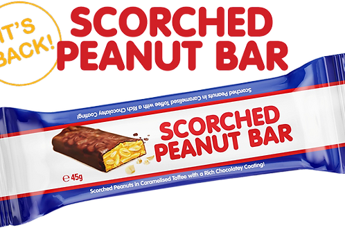 Scorched Peanut Bar 45g
