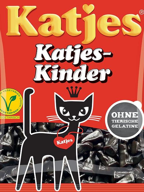 Dutch Salted Liquorice Katje 140g