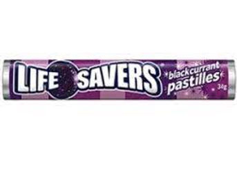 Life Savers Blackcurrant 43g