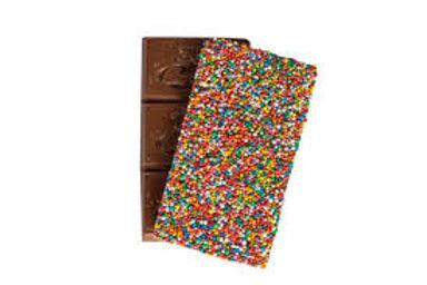 Melba's 2x Milk Chocolate Freckle Block 130g