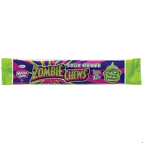 Zombie Chews Sour Grape 28g