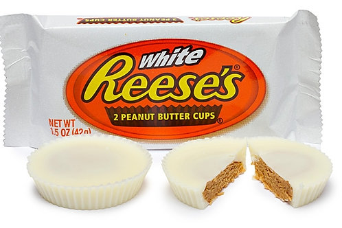White Reese's 2 Peanut Butter Cups