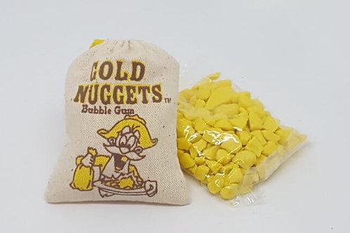 Gold Nuggets Bubble Gum 50g