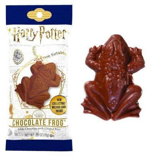 Harry Potter Choc Frog with Collector Cards