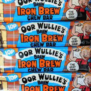 Oor Wullies's Iron Brew Chew Bar x 3