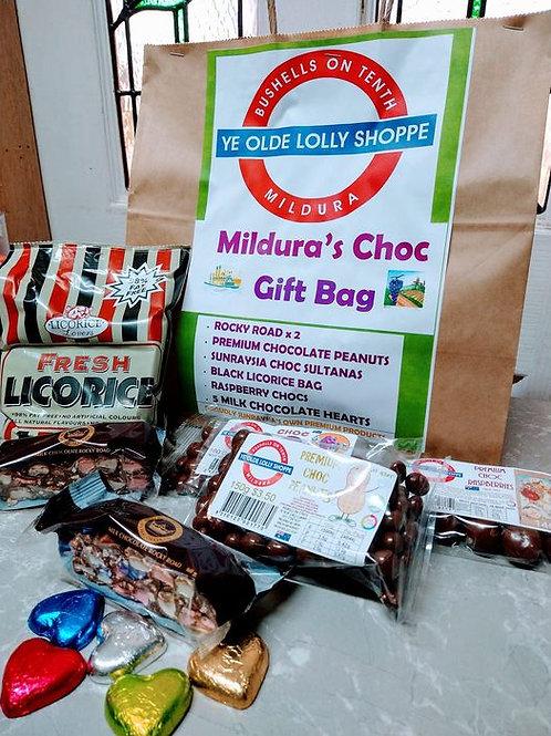 Mildura's Choc Gift Bag