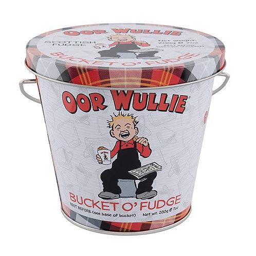 Oor Wullie Bucket O'Fudge 200g