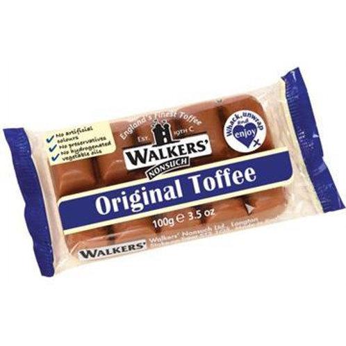 Walkers Original Toffee Block