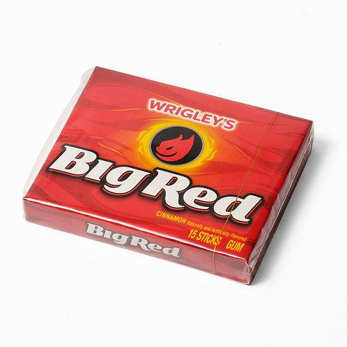 Wrigley's Big Red Cinnamon Gum 15 Sticks