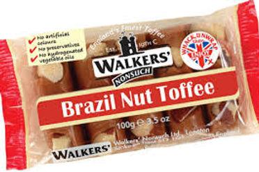 Walkers Brazil Nut Toffee 100g