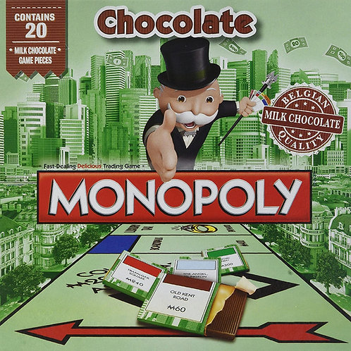 Monopoly Chocolate Board Game 20 pieces