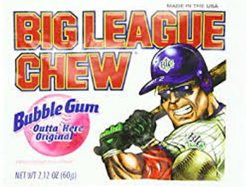 Big League Bubble Gum Original