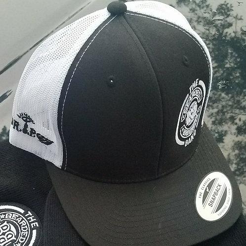 Bearded Hat Black & White