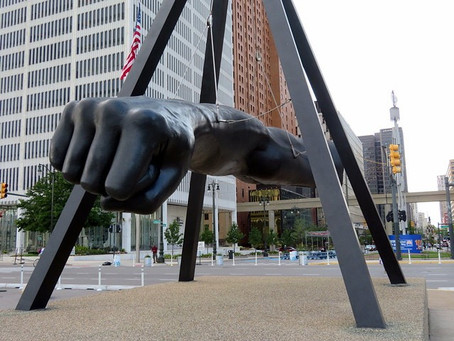 At A Glance: Monument to Joe Louis, 1986