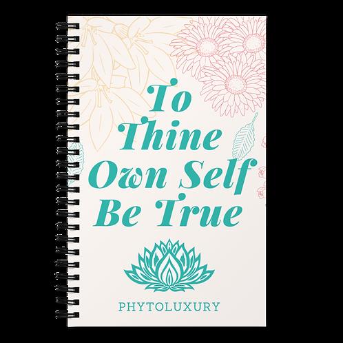 PHYTOLUXURY THINE Spiral Notebook