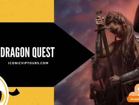 Hobbit and Thor Fans: Enter The World Of Iconic VIP Tours Dragon Quest Virtual Escape Game!