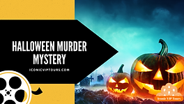 Iconic VIP Tours Halloween Virtual Murde