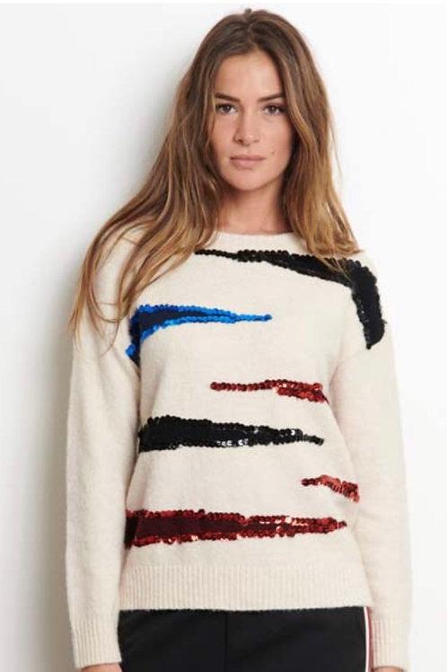 Sweater paillettes