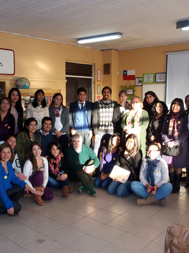I am here!! Project - Coronel, Chile