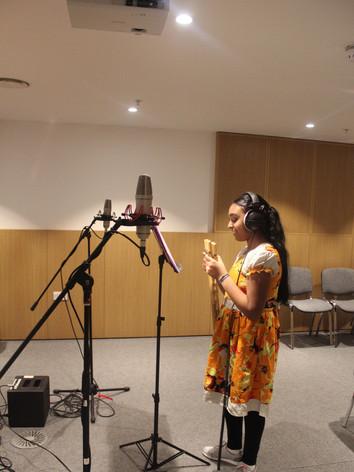Recording at Lyric Hammersmith