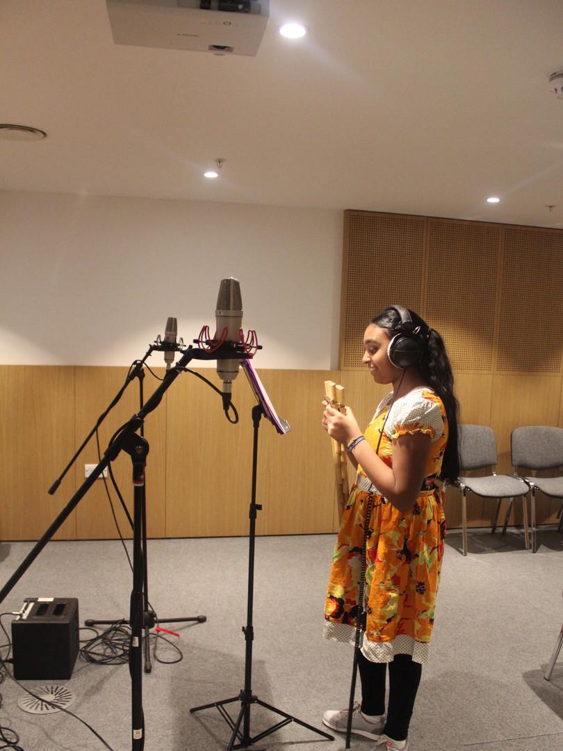 ECCO Session de grabacion en el Lyric Hammersmith
