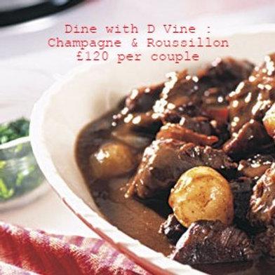 Dine with D Vine : £120