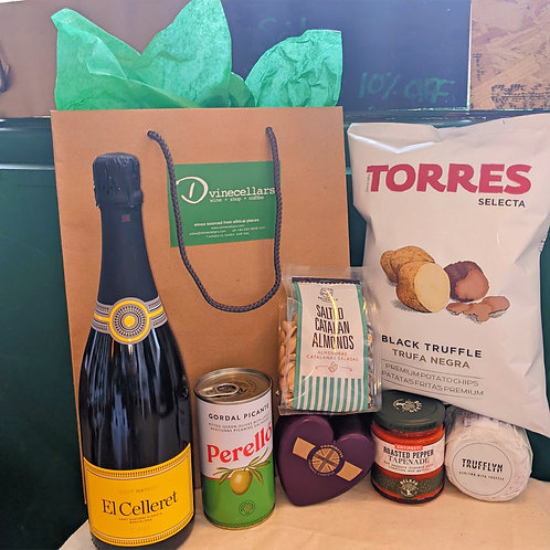 Gourmet Cava and Cheese Hamper