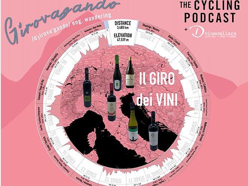 Selezione Our Giro with The Cycling Podcast - 6 bottle case