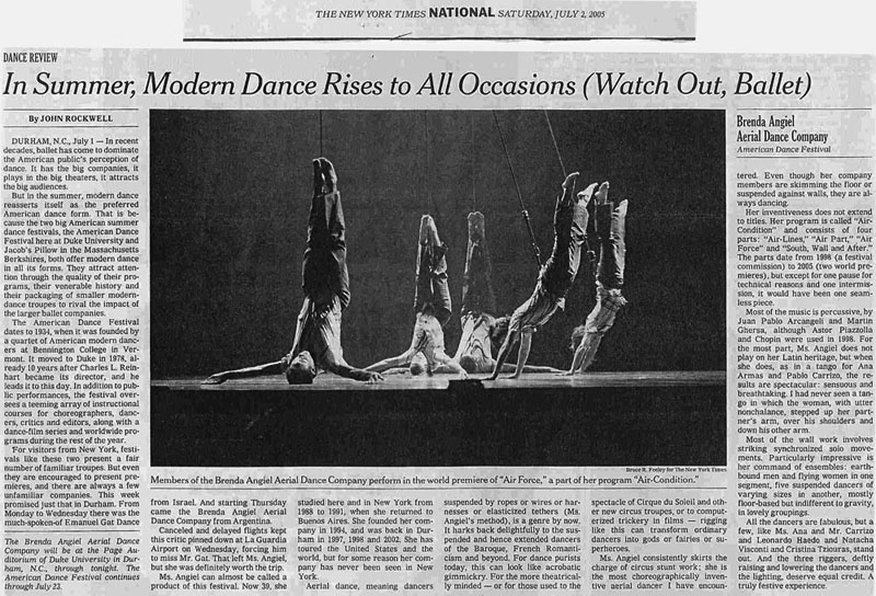 New York Times - 02.07.2005
