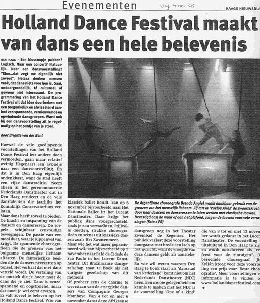 Haags Nieuws - 04.11.05
