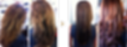 Agave Keratinbehandlung - Vorher und Nachher