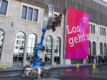 Feierliche Eröffnung vom Kulturbahnhof, Aalen