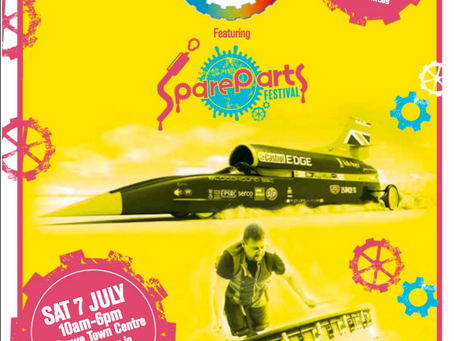 SpareParts Festival UK 2018, Sandbach, Crewe and Fleetwood