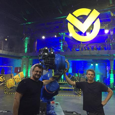 "UliK Robotic beim ""CHECKPOINT – Der große Digital-Battle"""
