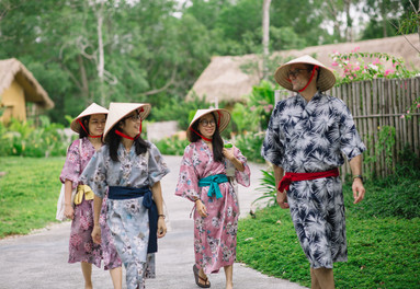 The culture and natural beauty of Vietnam is healing