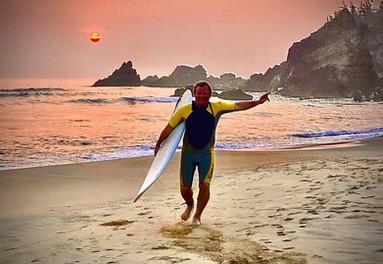 Surfing in Vietnam