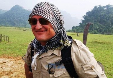 Ben Mitchell in Vietnam