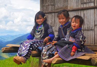 Kids of Mu Cang Chai by Jesse Pearlman