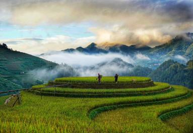 Beautifu landscapes of Mu Cang Chai by Jesse Pearlman