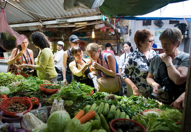 Vietnamese cooking classes start with the ingredients