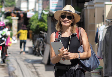 Researching trip experiences in Vietnam